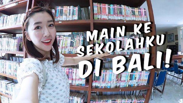 Sunny Dahye yang dulu bersekolah di Bali