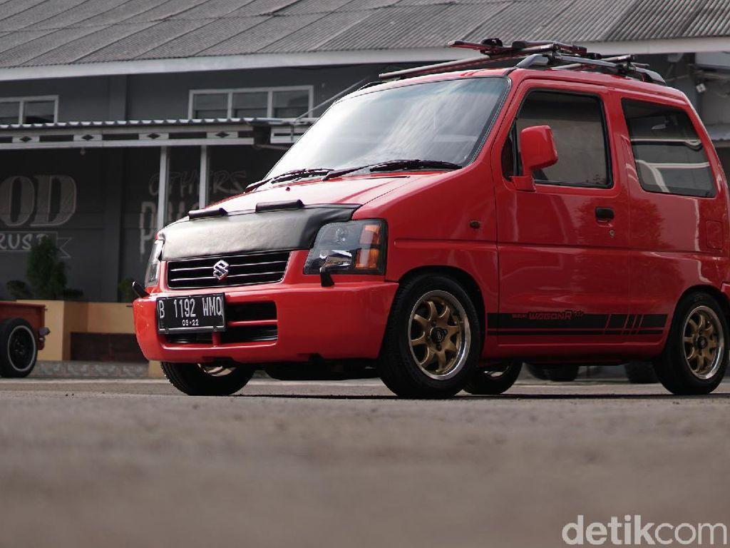 Unik Banget! Suzuki Karimun Kotak Ini Dimodifikasi Jadi Mobil Dua Pintu