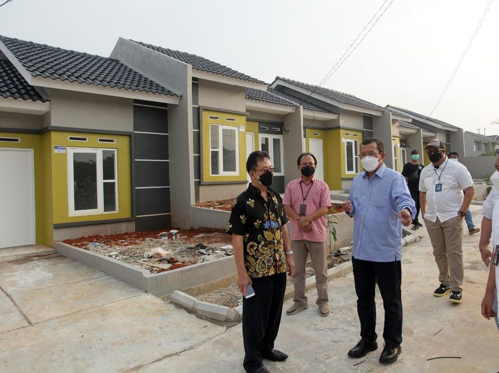 Tinjau Pembangunan Rumah untuk MBR