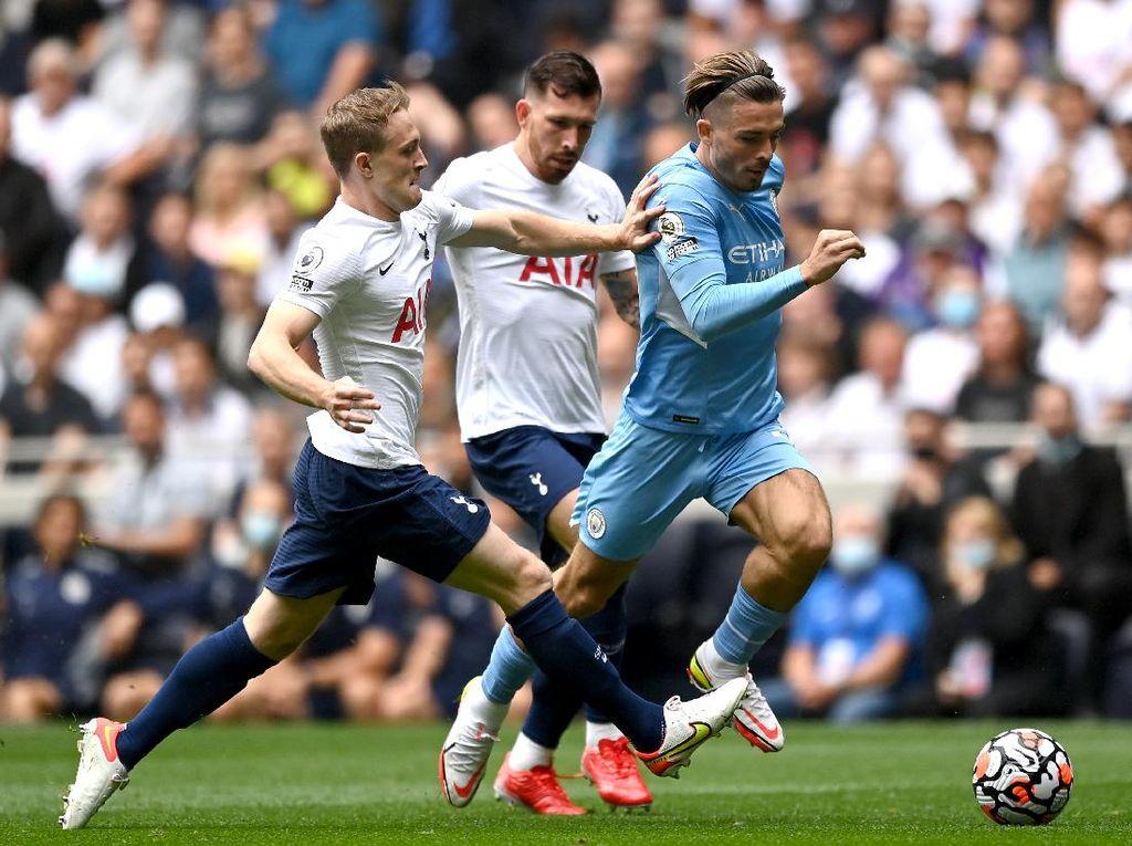 Babak I Tottenham Vs Man City Tuntas 0-0