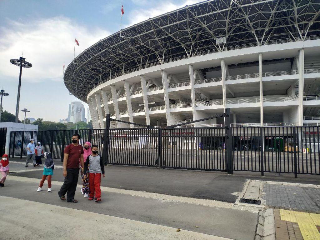 Sarana Olahraga Outdoor di DKI Dibuka, Warga Ramai-ramai Sambangi GBK