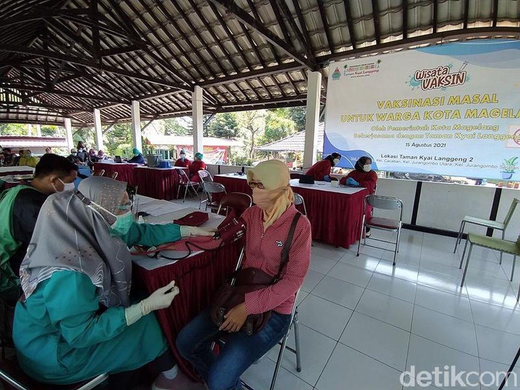 Ini Baru Asyik! Wisata Vaksin di Taman Kyai Langgeng Magelang