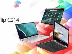 Asus Siapkan Laptop Tangguh Chromebook Flip C214MA untuk Anak Sekolah