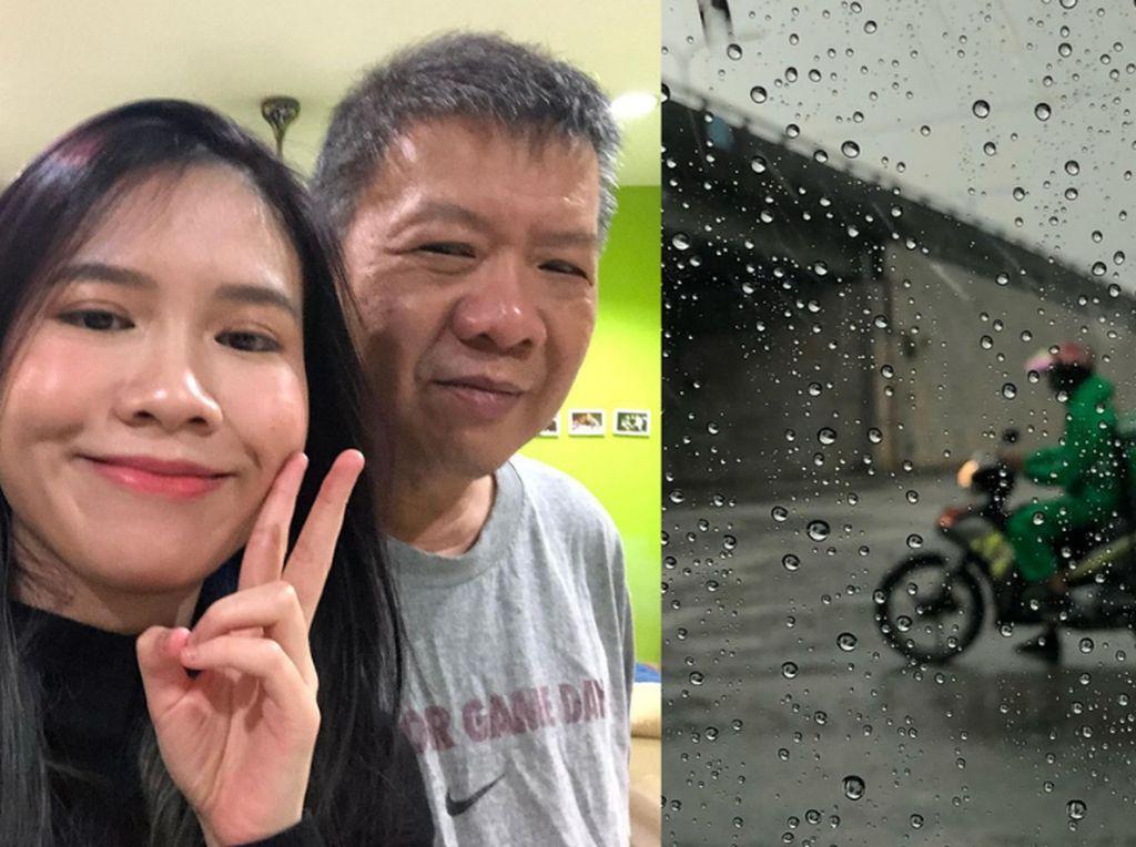 Curhat Ayahnya Dilempar Sup Panas Saat Jadi Ojol, Netizen Ini Banjir Dukungan