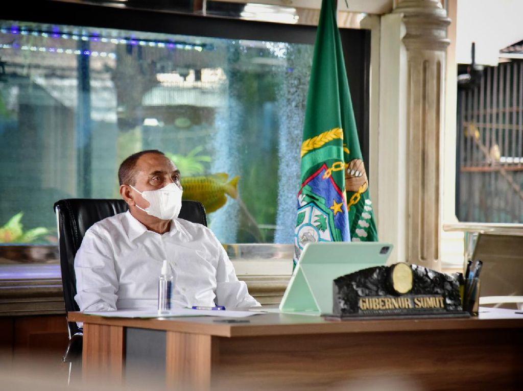 Gubsu Edy Kembali Lapor Kekurangan Obat COVID-19 ke Pusat, Minta Dipercepat