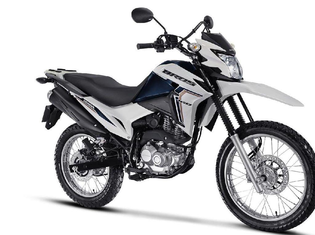 Lihat Lebih Dekat Honda Verza Versi Trail yang Dijual di Brasil
