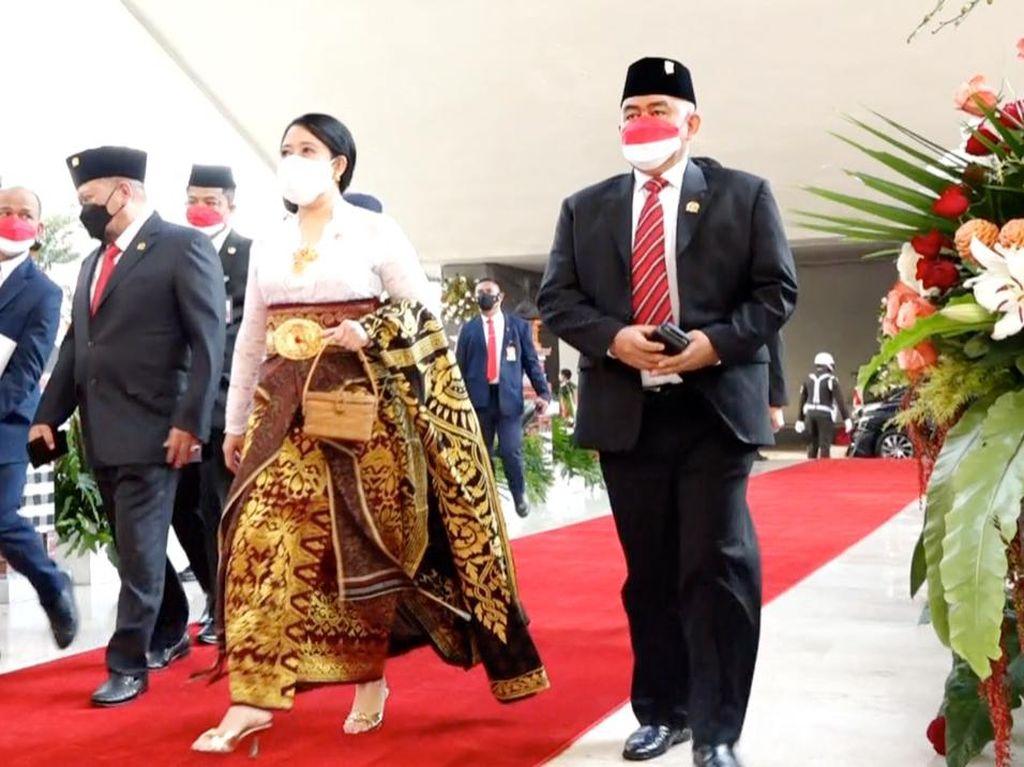 Alasan Puan Kenakan Pakaian Adat Bali di Sidang Tahunan MPR 2021