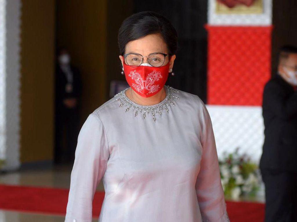Para Menteri Jokowi Hadiri Sidang Tahunan MPR