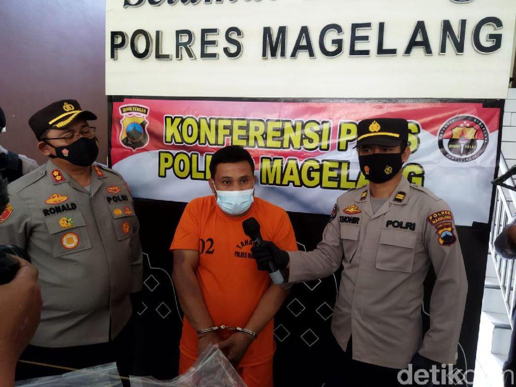 Pembobol Apotek yang Gasak Duit Puluhan Juta di Magelang Ditangkap