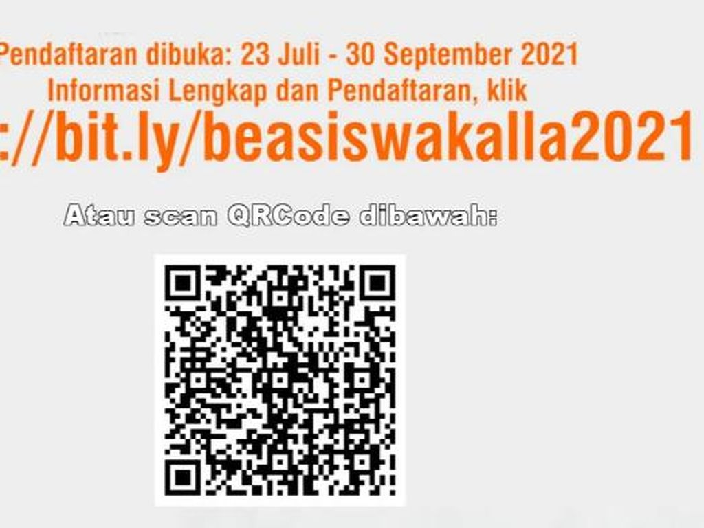 Pendaftaran Beasiswa S1 dari Yayasan Hadji Kalla Dibuka, Apa Syaratnya?