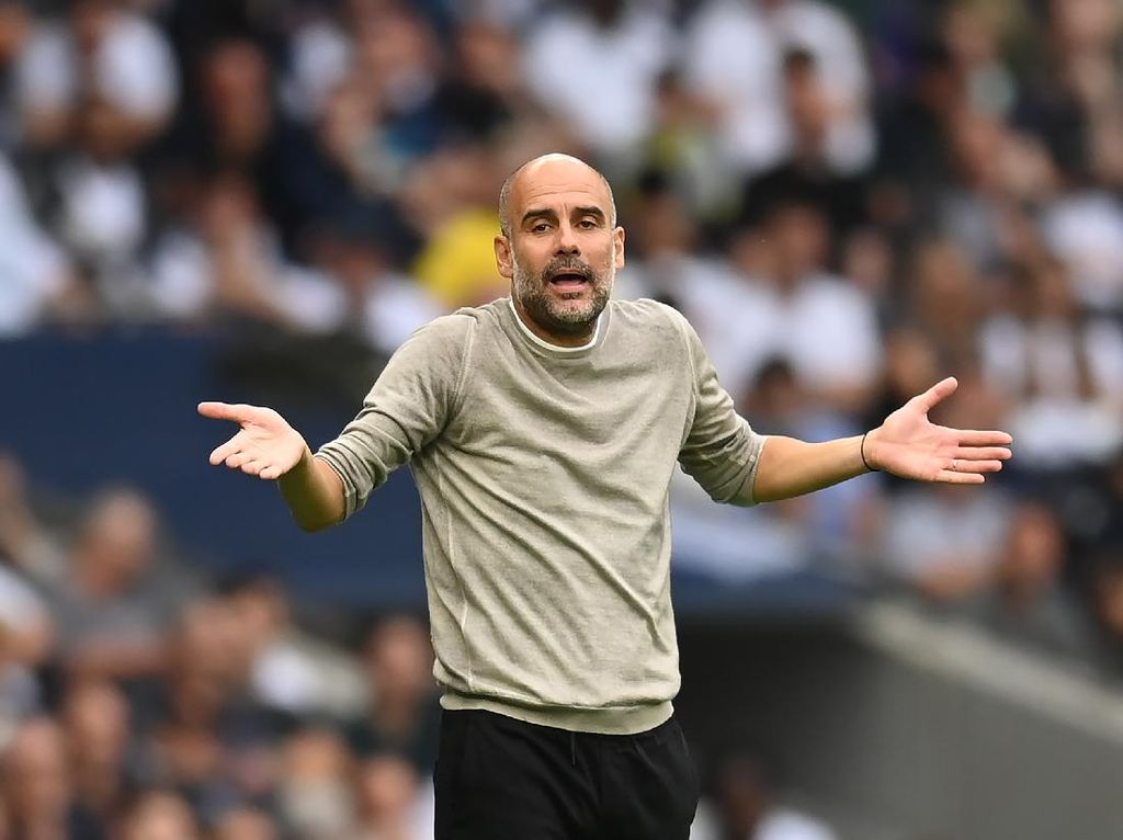 Manchester City Belum Juga Juara Liga Champions, Guardiola Kalem
