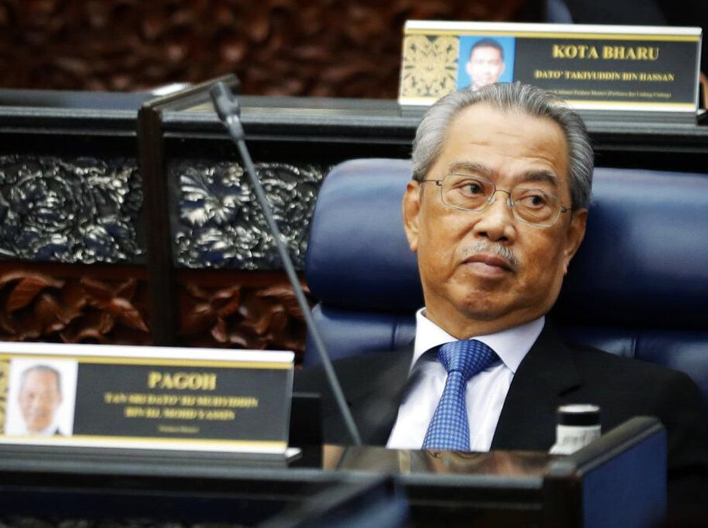 PM Malaysia Muhyiddin Yassin Resmi Mengundurkan Diri