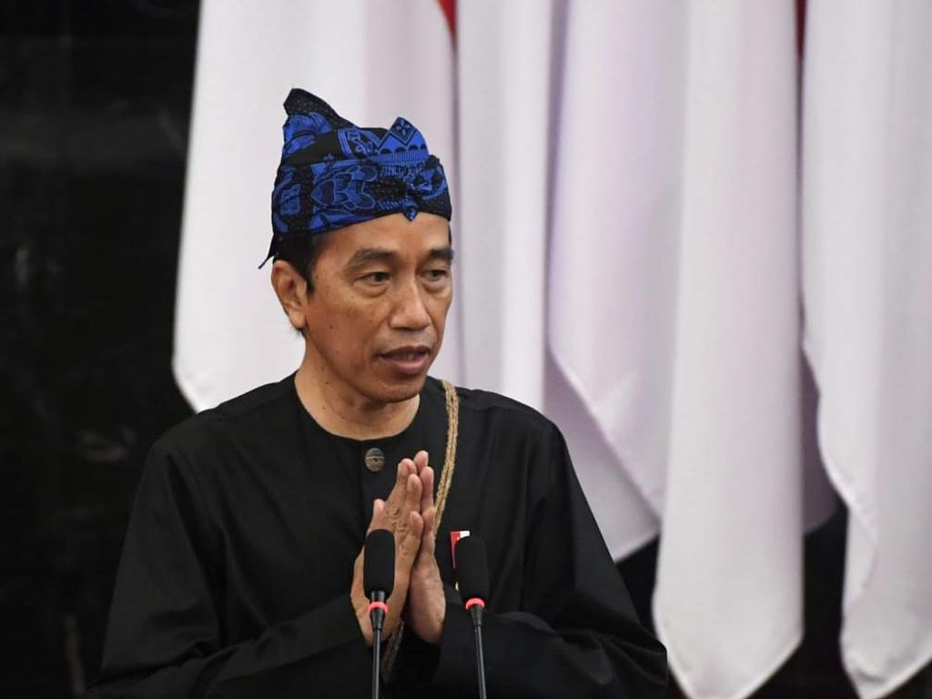 Catat! Ini Poin Penting Pidato Jokowi soal APBN 2022