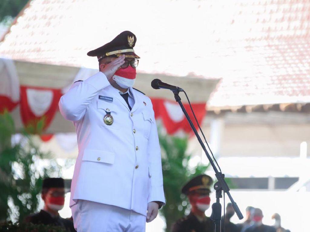 Momentum Kemerdekaan RI, Bupati Kediri Harapkan UMKM Kembali Maju