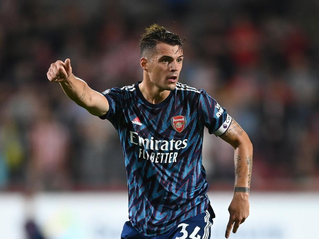Granit Xhaka Sudah Teken Kontrak Baru di Arsenal?
