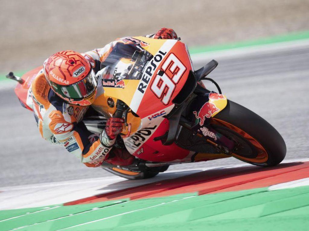 MotoGP Austria: Marquez Gagal Pancing Brad Binder Masuk Pit