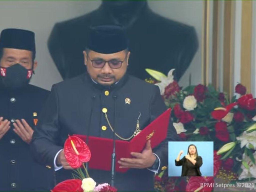 Doa Menag di HUT RI: Anugerahilah Pemimpin Kami Kepekaan Menangkap Keindahan