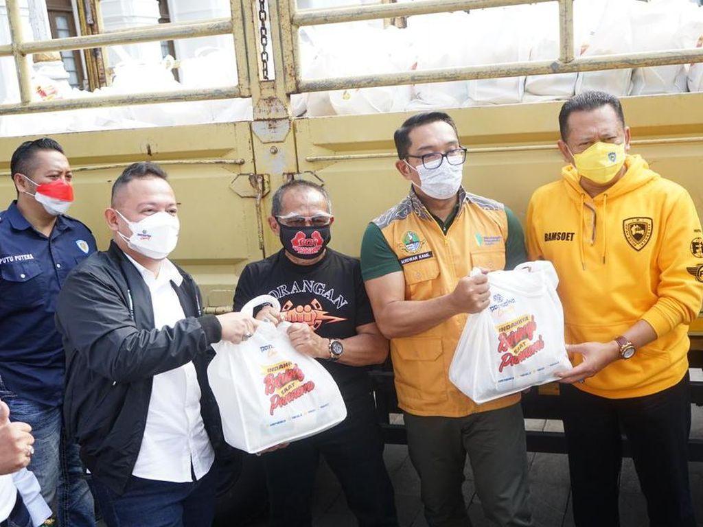 HUT RI, Pansaka Sebar 35 Ribu Paket Sembako untuk Warga Terdampak Pandemi