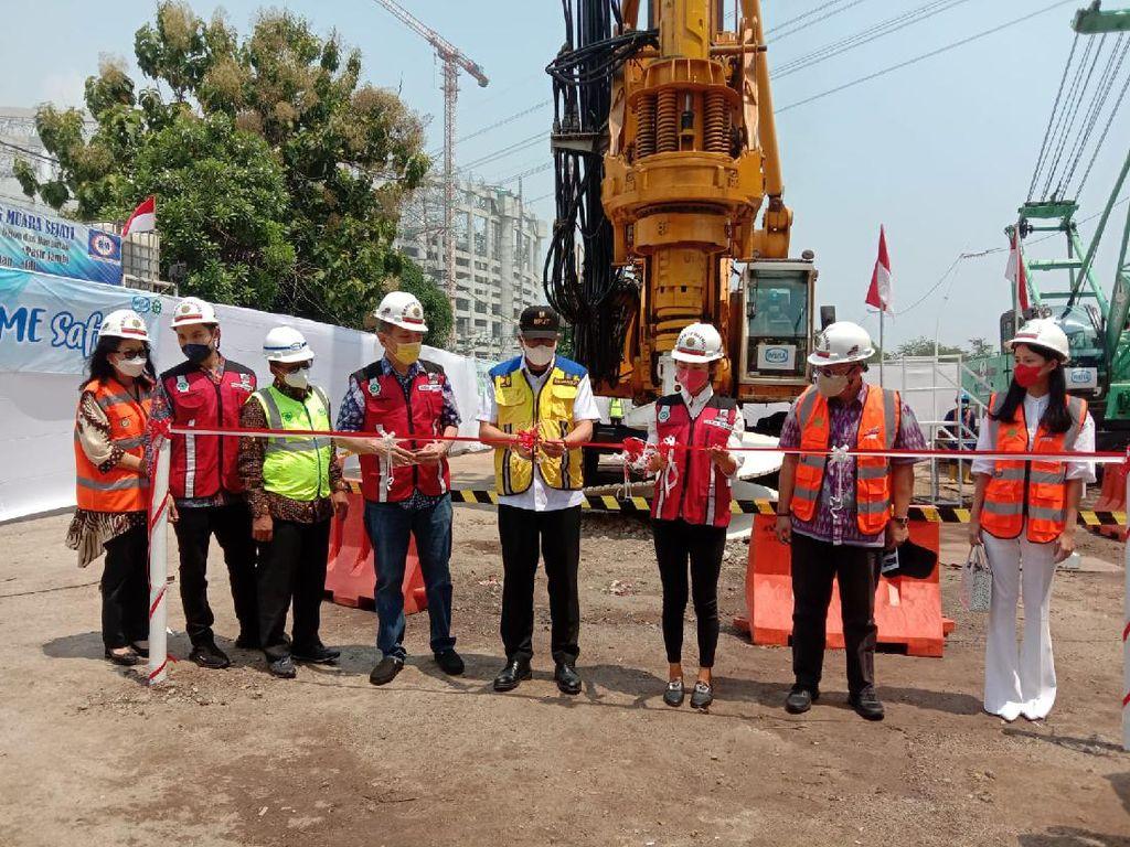 Pengeboran Pertama Dimulai, Tol Bertingkat Harbour Road II RI Kelar 2024