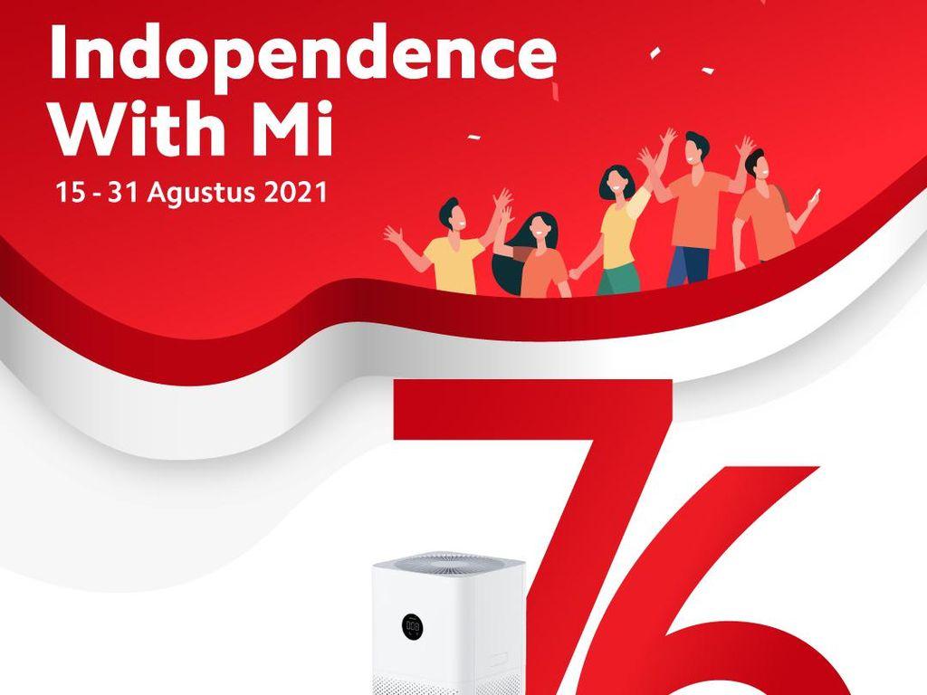 Xiaomi Bagi-bagi Hadiah Earphone & Air Purifier Meriahkan HUT RI