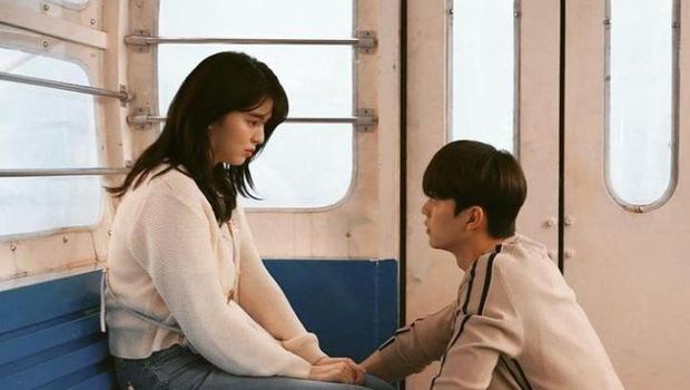 Yoo Na Bi dan Park Jae eon di drama Nevertheless/Instagram.com/nevertheless_k_drama