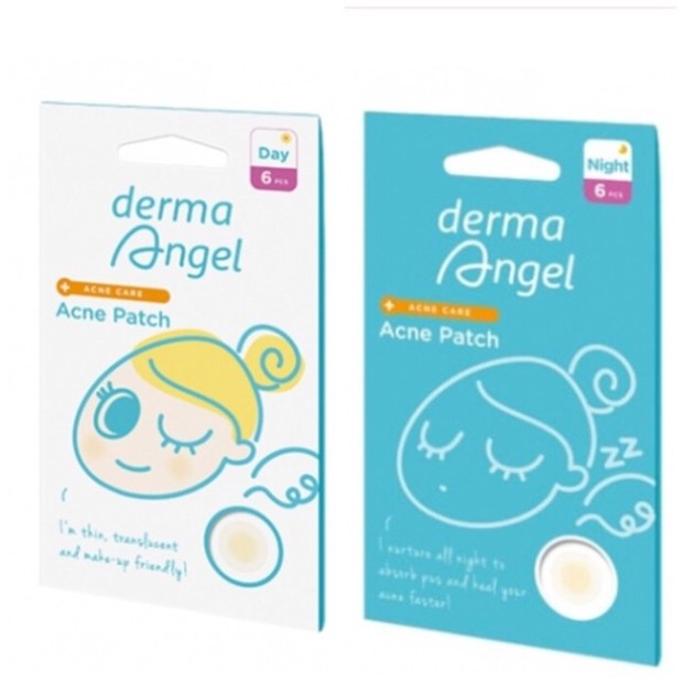 Derma Angel Acne Patch for Day and Night / foto : shopee.co.id/jl_beauty