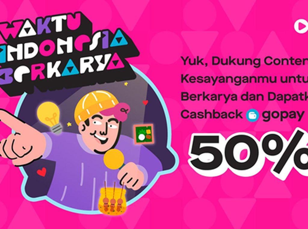 Rayakan Pekan HUT Ke-76 RI di GoPlay Waktu Indonesia Berkarya