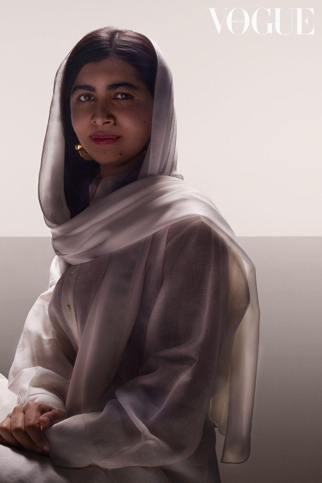 Malala Vogue UK July 2021