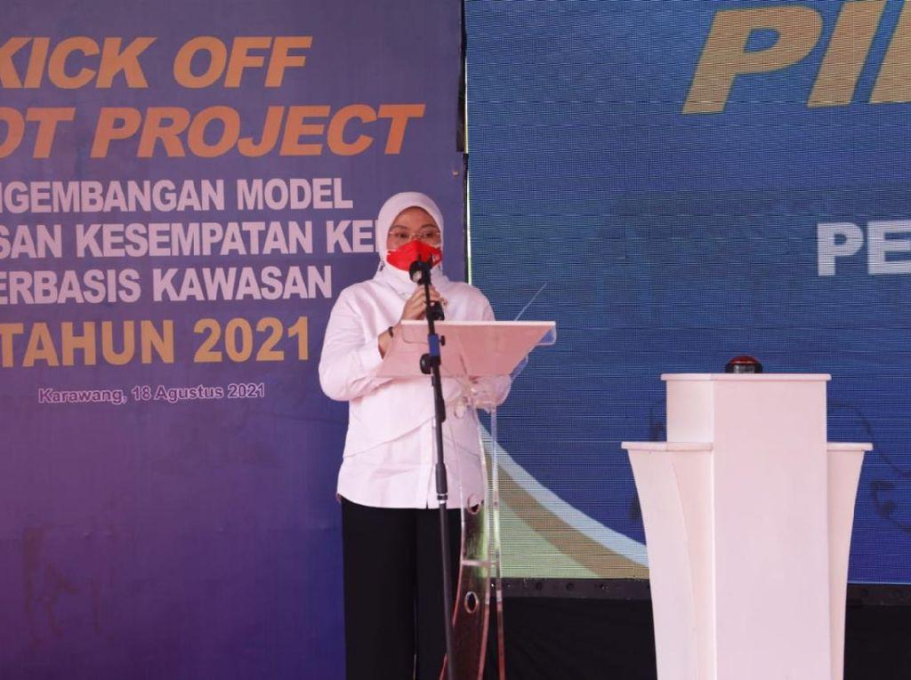 5 Daerah Jadi Pilot Project Perluasan Kerja Berbasis Kawasan