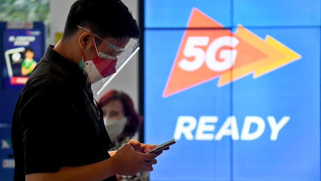 Menjajal Layanan 5G di XL Center Jakarta