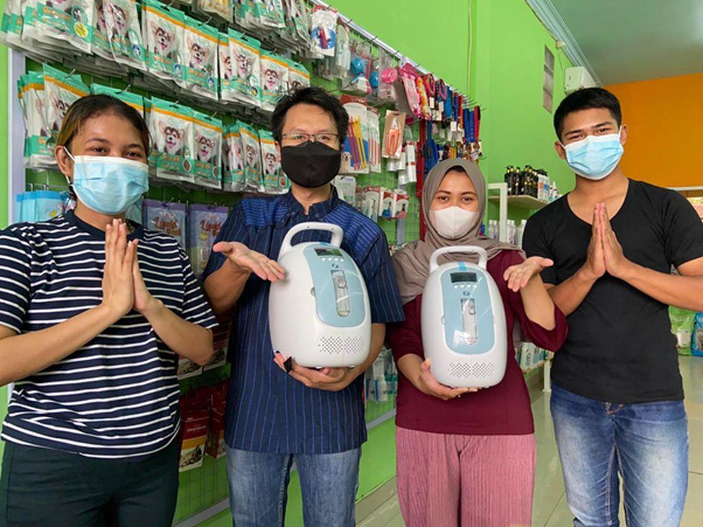 Mypets Group Pinjamkan Oksigen Konsentrator Gratis untuk Pasien COVID