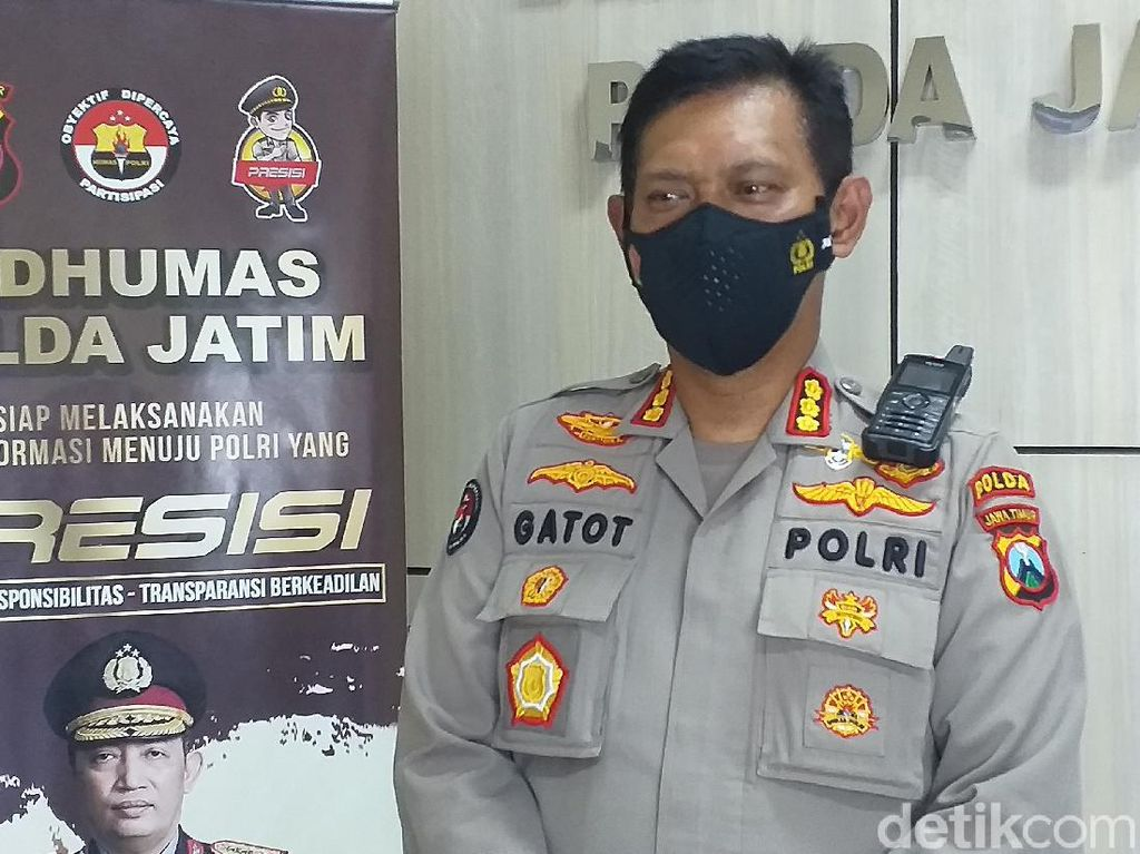 6 Terduga Teroris yang Diamankan Masih di Polda Jatim