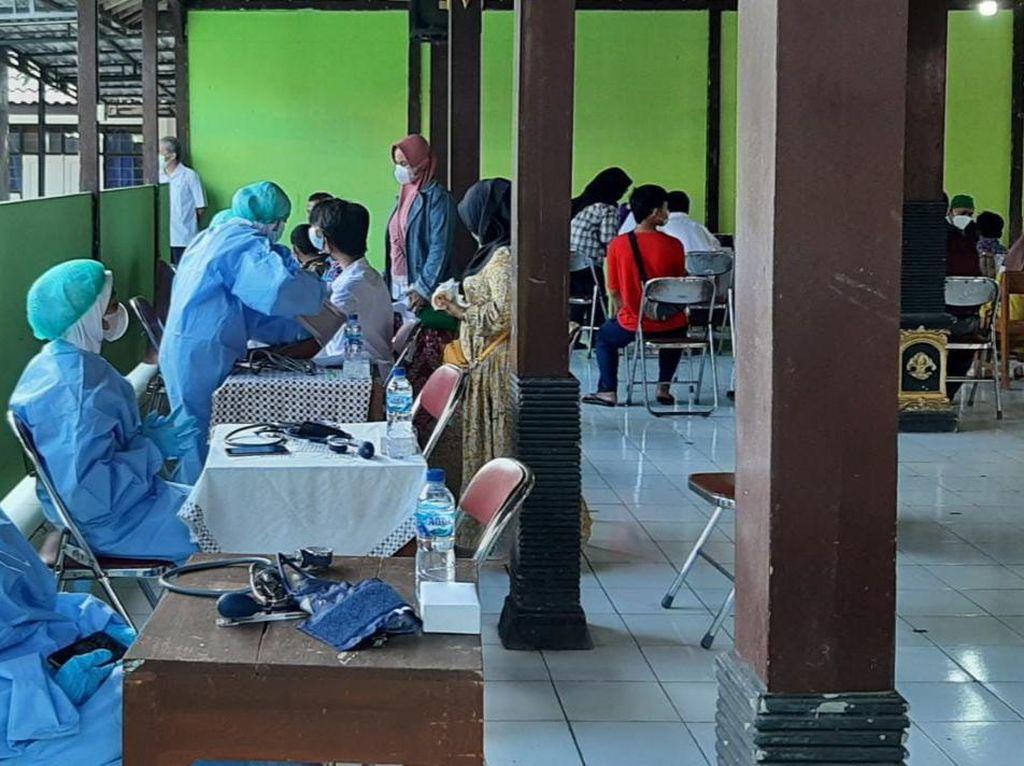 Targetkan 360 Orang, Vaksinasi Murid SLB di Gunungkidul Dimulai