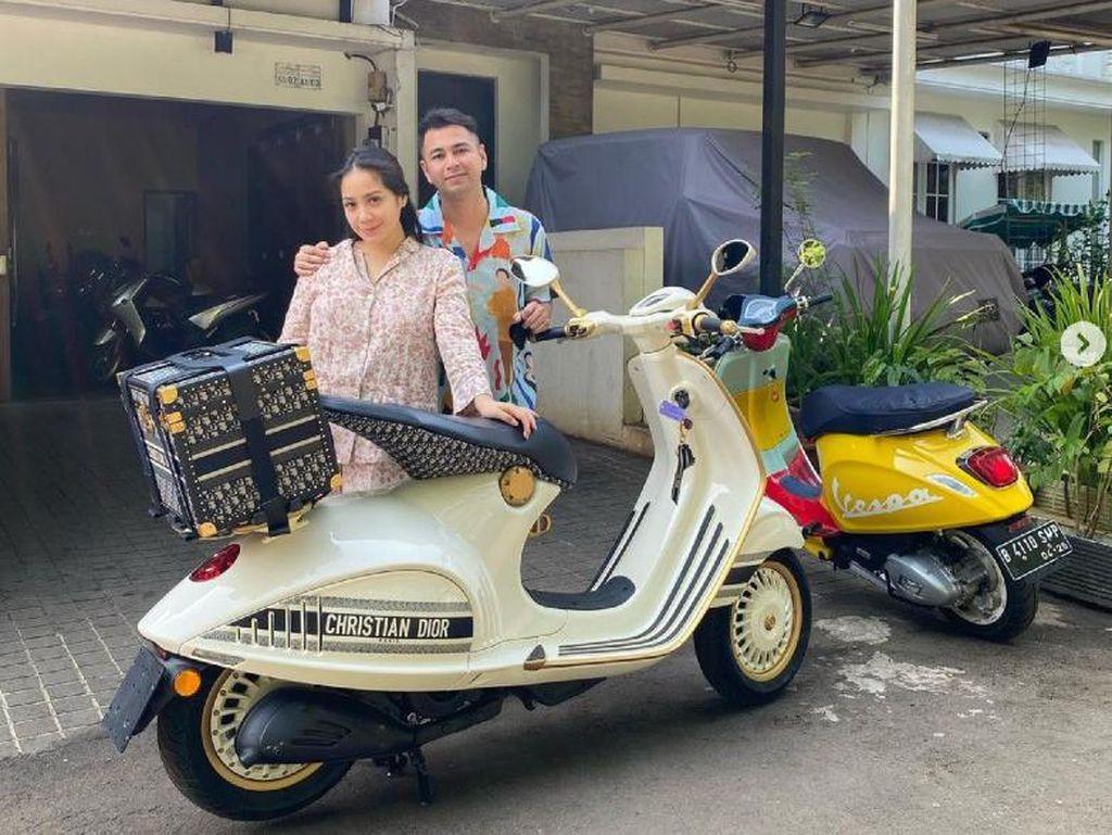 Nagita Slavina Ngidam Vespa Dior Rp 1 M, Raffi Ahmad Langsung Beli