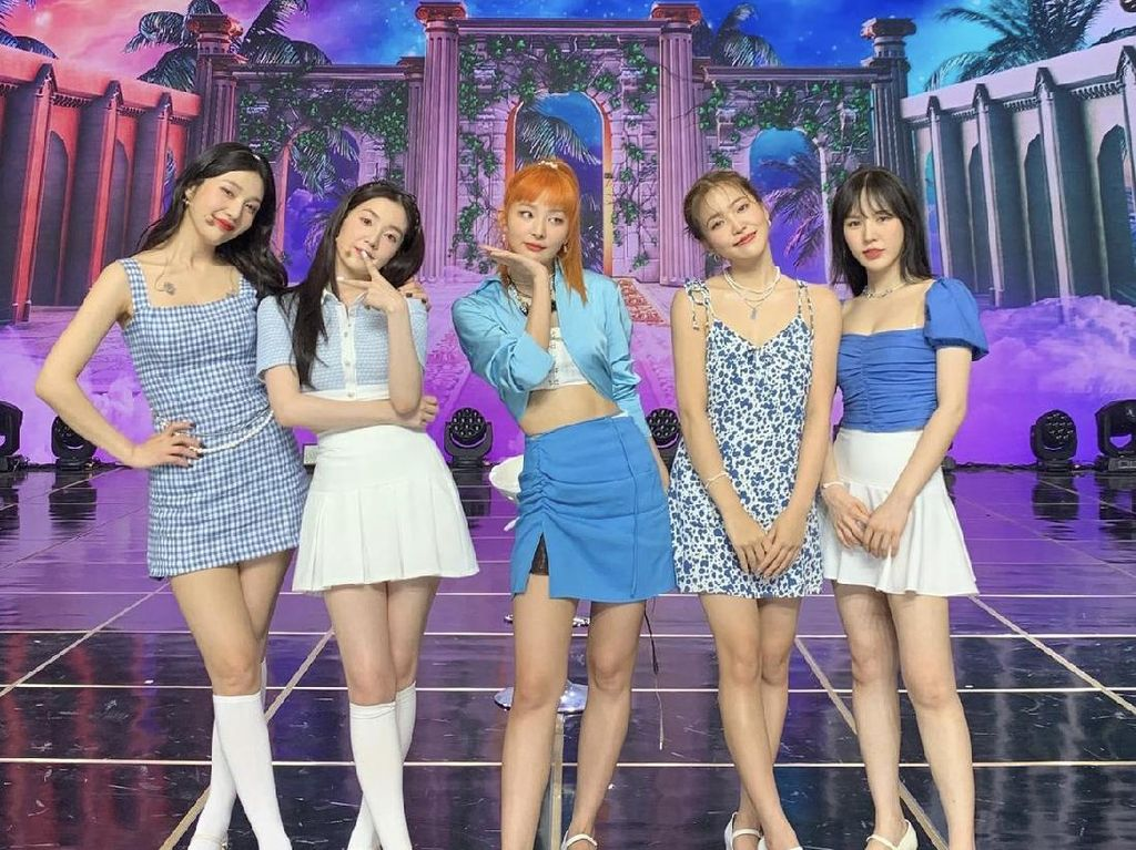 Red Velvet Rilis Queendom, Intip Diet dan Makanan Favorit Membernya