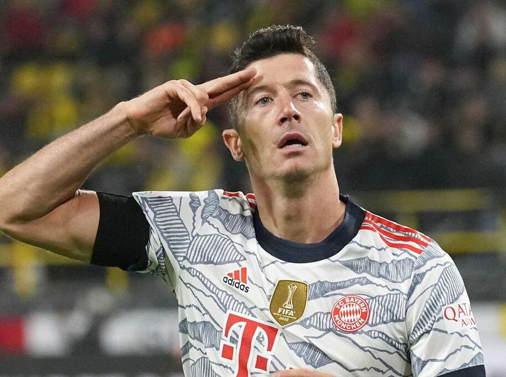 Bayern Mau Beli Haaland? Lewandowski Masih Sanggup Bersaing kok