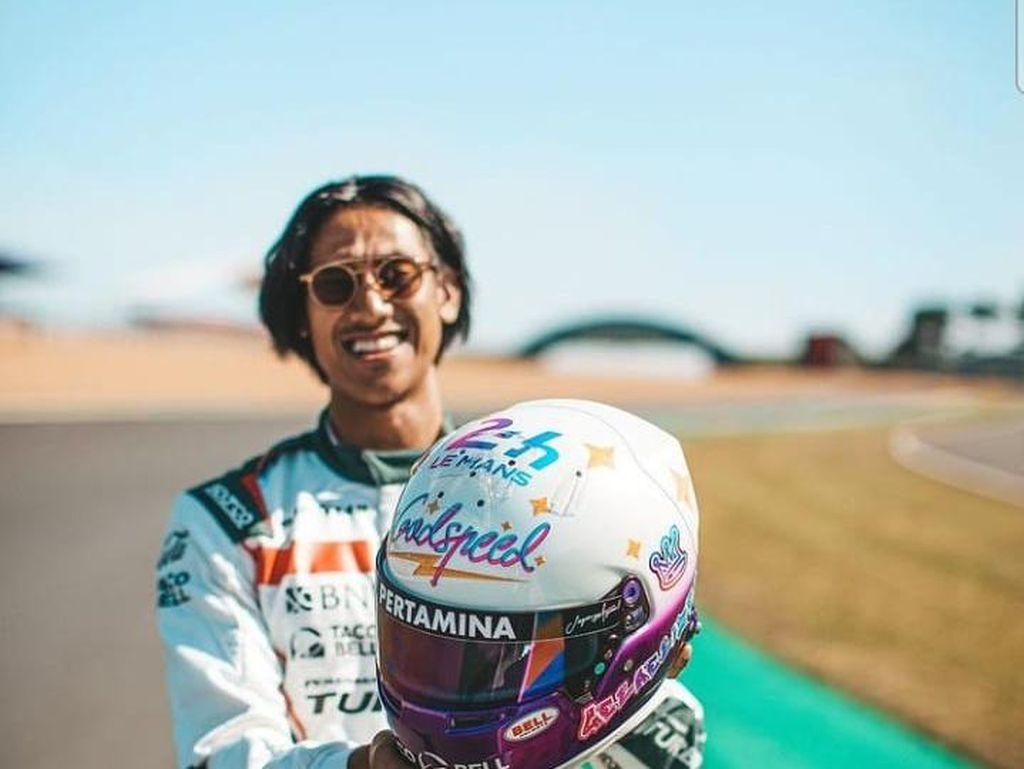 Helm Spesial Sean Gelael di Le Mans 24 Hours: Ada Ayat Al-Quran