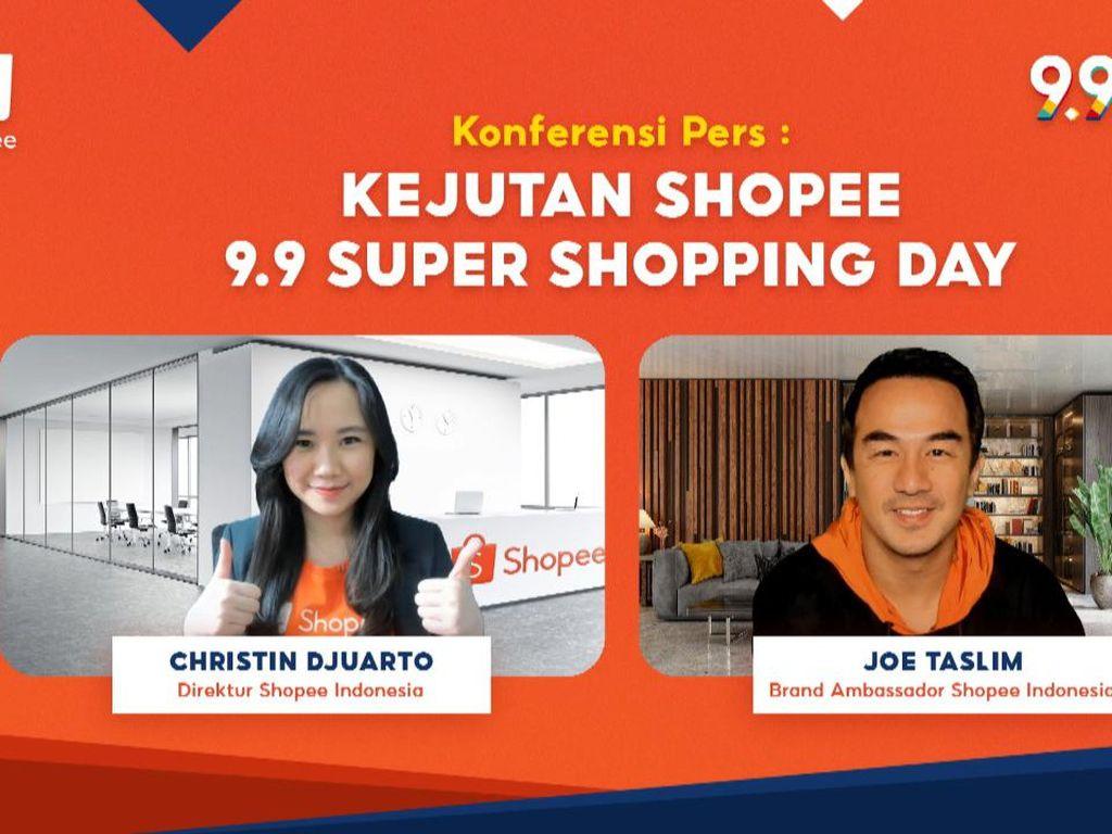 Shopee Targetkan 1,2 Juta UMKM Ikut Kampanye 9.9 Super Shopping Day