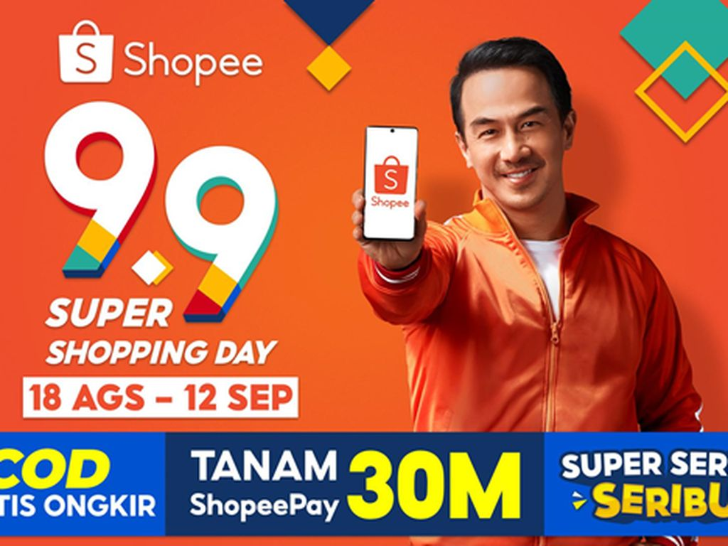 Gaet Joe Taslim, Shopee Gelar Kampanye 9.9 Super Shopping Day