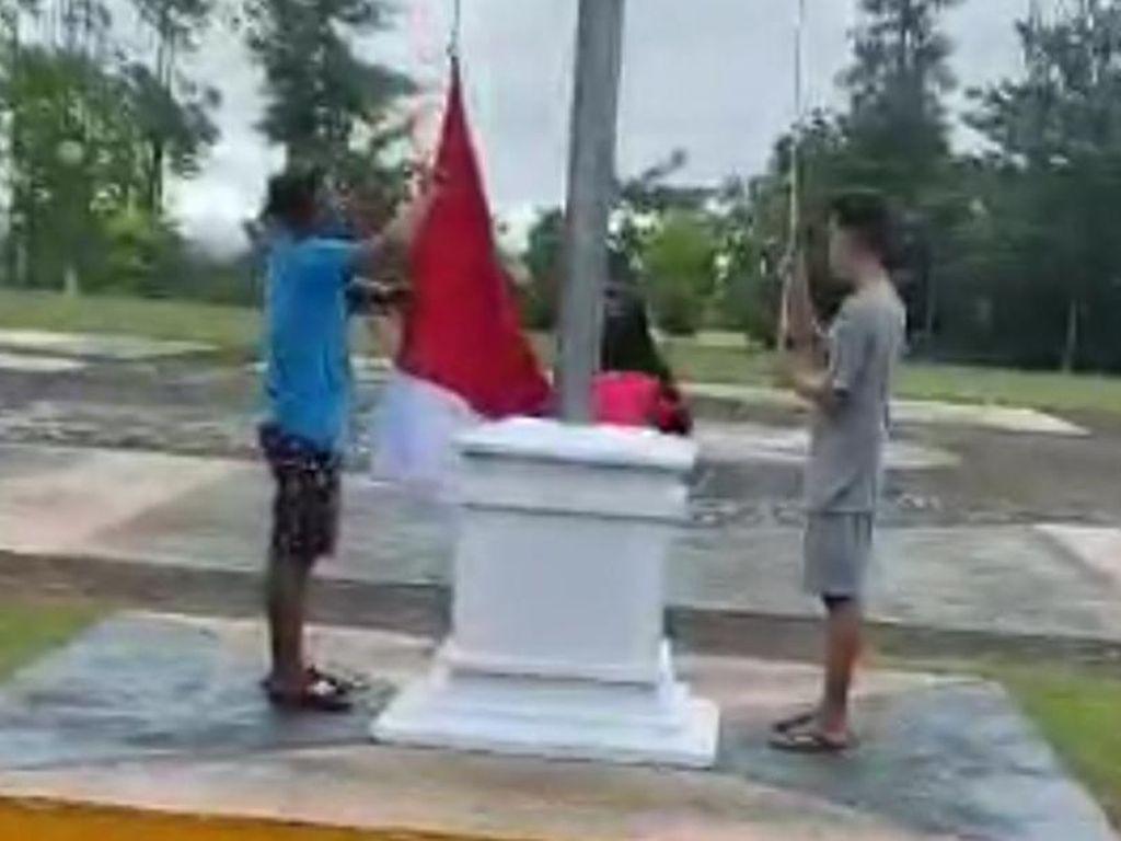 Alasan Pemkab Kuansing soal Tak Ada Upacara Berujung Remaja Turunkan Bendera