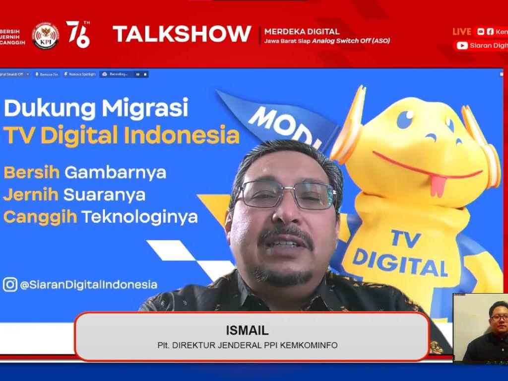 3 Manfaat Migrasi TV Analog ke TV Digital Menurut Kominfo