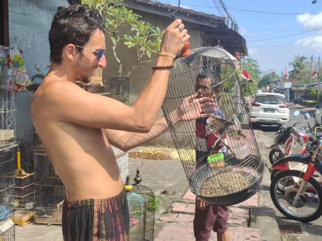 Viral Bule Baik di Bali, Beli Burung buat Dilepaskan Lagi