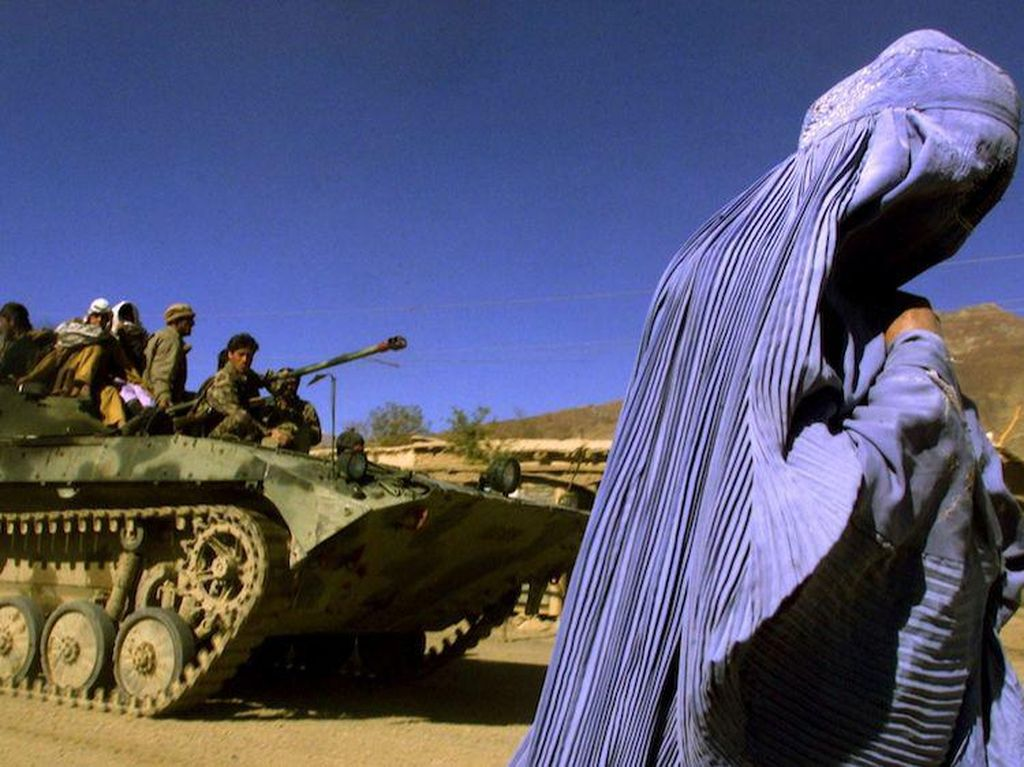 Wow! AS Cabut, Tinggalkan 1 Triliun Dolar di Perut Bumi Afghanistan