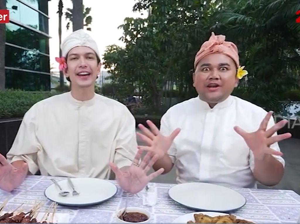 Bikin Laper! Dimas Beck Cicip Sate Rembiga Khas Lombok yang Mantul