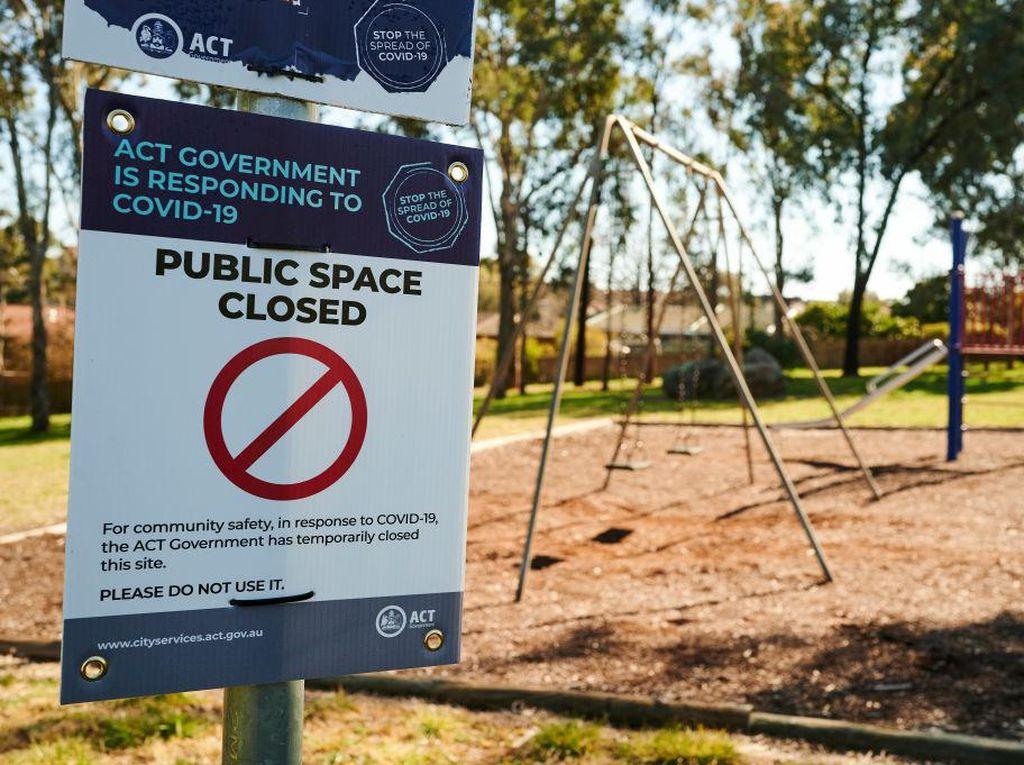 Lockdown di Ibu Kota Australia Diperpanjang Hingga Oktober