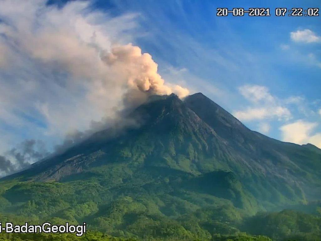 Gunung Merapi Erupsi Sore Ini, Jarak Luncur Awan Panas Capai 3 Km
