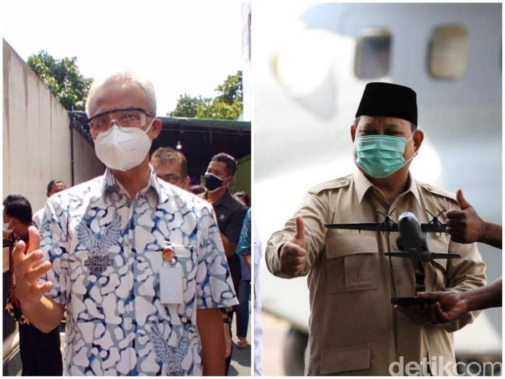 Jajak Pendapat Capres Teranyar Posisikan Prabowo Disusul Ganjar