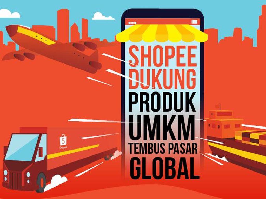 Dukungan Shopee untuk Dorong Produk UMKM Masuk Rantai Pasokan Global