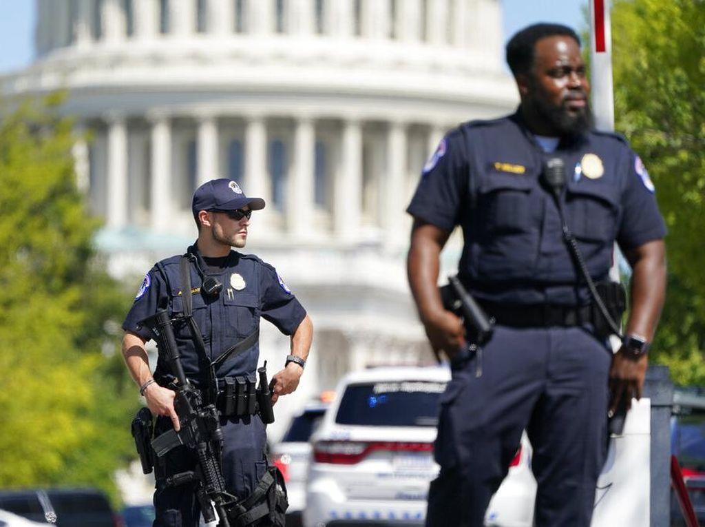 Kawasan Capitol Hill Disterilisasi Gegara Ancaman Bom