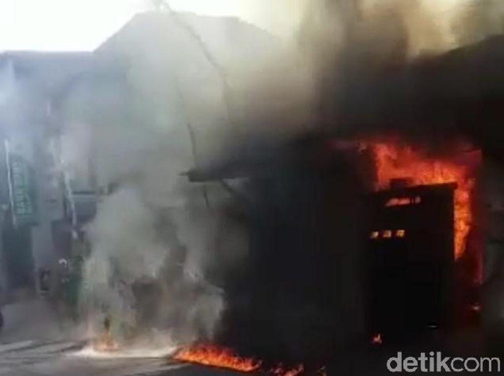 SPBU Mini di Sumenep Meledak dan Terbakar, Pemiliknya Terluka Bakar 80%